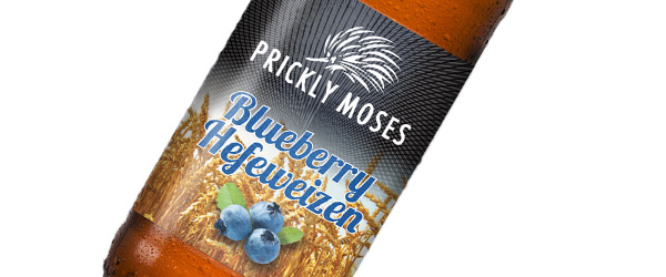 prickly moses - Blueberry Hefeweizen